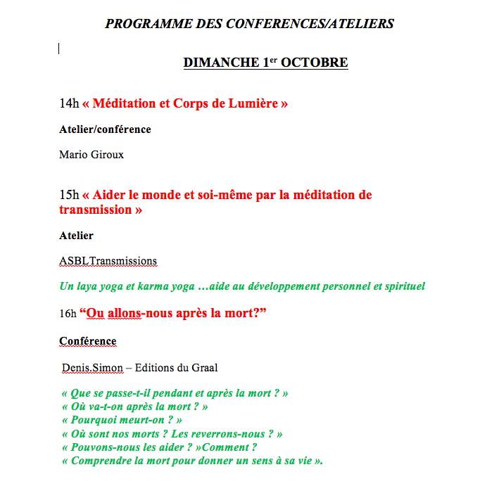Programme OM SWEET OM 01.10